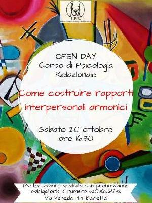 Open Day: Come Costruire Rapporti Interpersonali Armonici